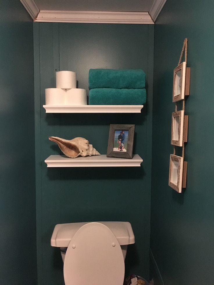 Floating shelves above toilet   – House – #Floating #House #Shelves #toilet   – …   – most beautiful shelves