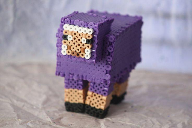 3-D Minecraft Sheep