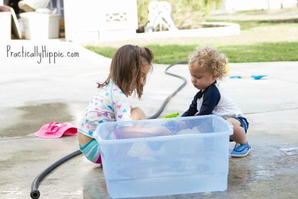 How My Toddler Nearly Drowned in a Bucket of Water--Practically Hippie