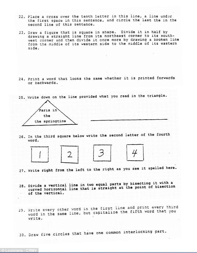 Harvard students sit the 1964 Louisiana Literacy Test that black voters had to pass before being allowed to go to the polls - and every single person FAILED  Read more: http://www.dailymail.co.uk/news/article-2831095/Harvard-students-sit-1964-Louisiana-Literacy-Test-black-voters-pass-allowed-polls-single-person-FAILED.html#ixzz3IrauxdCG  Follow us: @MailOnline on Twitter | DailyMail on Facebook