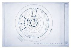 Jetsons House Floorplan reconstructed by architect Mark Bennett.