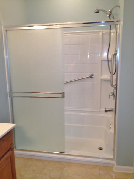 Full Cut E Z Step Tub To Shower Conversion Senior Safety
