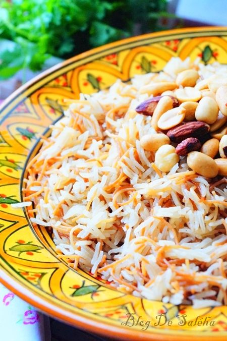 Riz aux vermicelles a la libanaise
