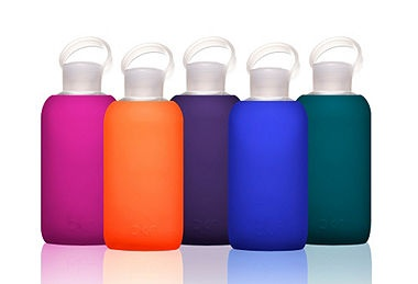 Eco-Luxe Glass Water Bottles