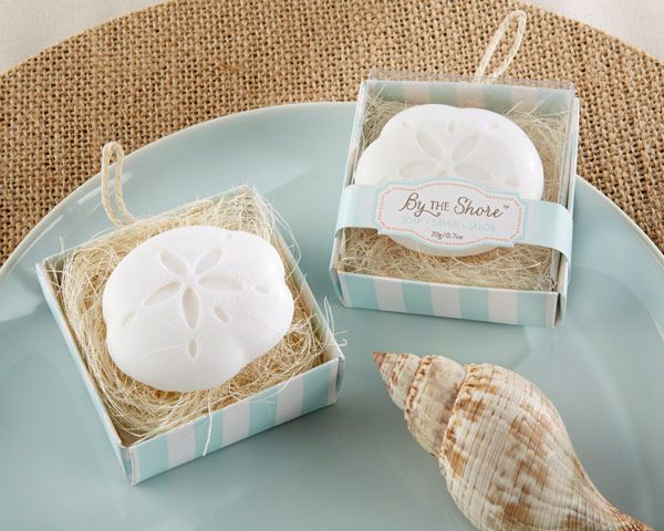 By the Shore Sand Dollar Soap Favors