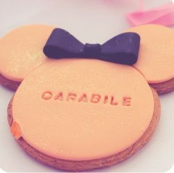minnie mouse biscuit