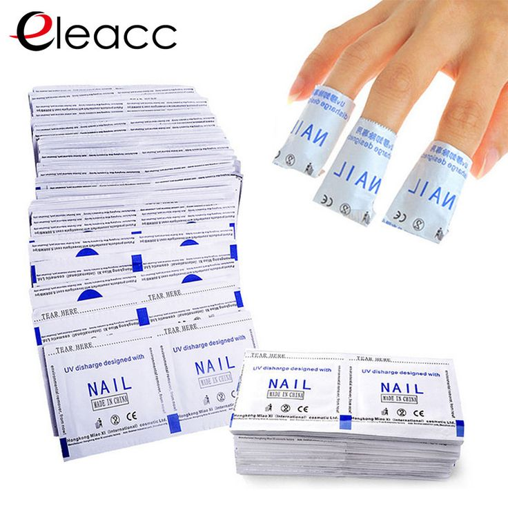 Nail Polish Remover Wraps Nail Art Gel Polish Remover Lacquer Easy Cleaner Gel Nail Wraps Uv Gel Nails Care Tools 50pcs/lot