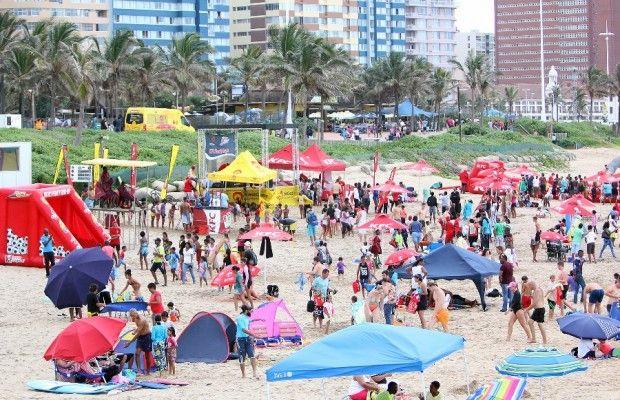uShaka Beach fun with KFC Family Days
