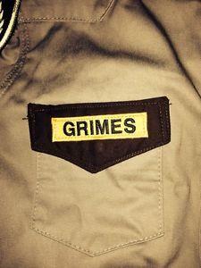 The Walking Dead Kids Children's Rick Grimes Costume Sheriff's Homemade Shirt | eBay