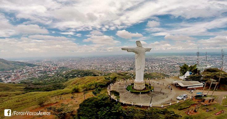 Panorámica de Cali sobre Cristo Rey #colombia