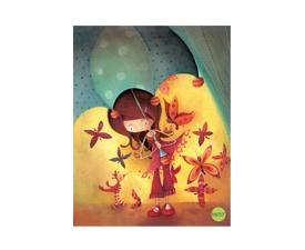 Cahier d'exercices Ketto parapluie / Ketto's exercise book umbrella  www.kettodesign.com