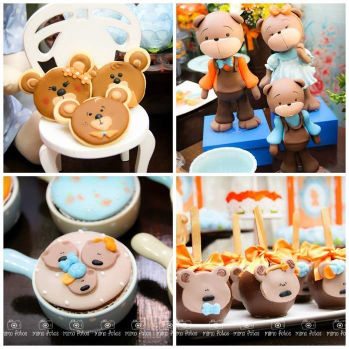 Goldilocks and the Three Bears Kids Themed Birthday Party Boy Girl