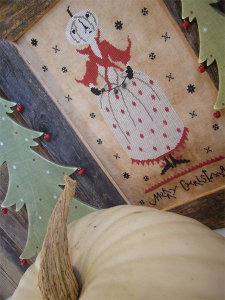 The Primitive Hare: FREE CHARTS Christmas Pumpkin