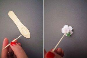 Occhiali da sole floreali fai-da-te
