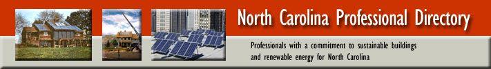 NC Professional Directory - renewable energy companies.