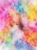 Hintergrundbilder Iphone Pastell – Colorful Powder Explosion