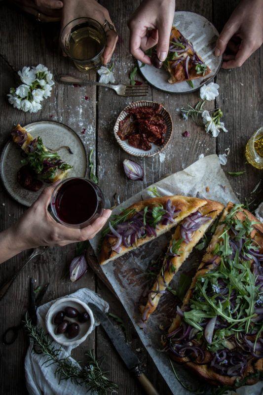 ligurian focaccia recipe - twigg studios
