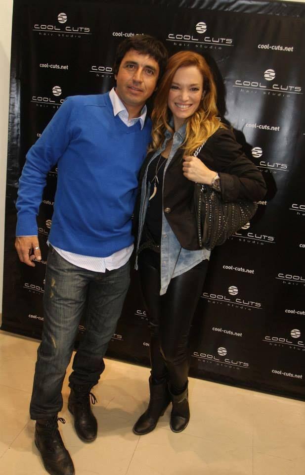 Alvaro y Claudia Albertario
