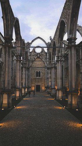 Lisboa_igreja do Carmo
