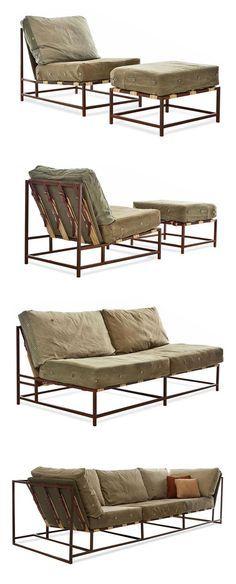 10 besten monoqi metallbett stahlbett metal bed for Sofa industriedesign