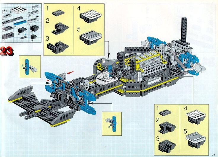 ... Technic - Racing Car [Lego 8880] ...