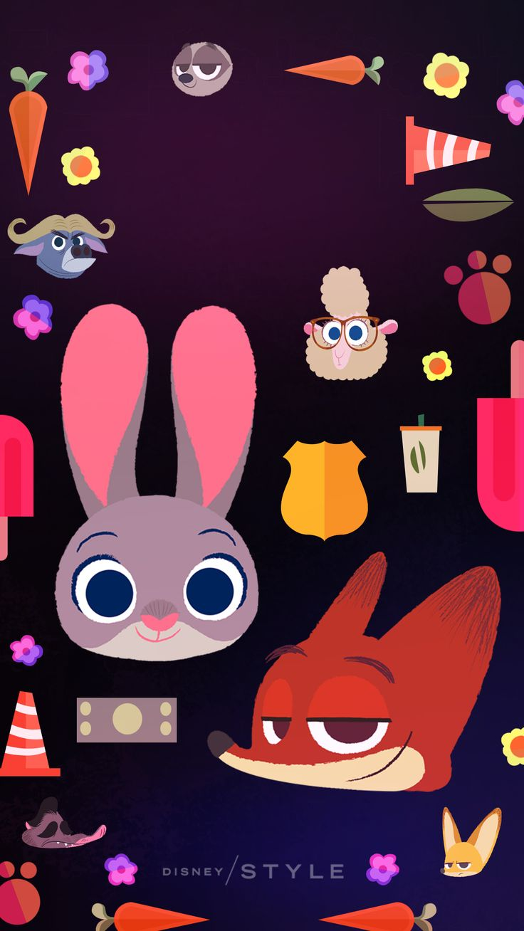 Springtime Disney animal wallpapers for your phone that will brighten your day! | Zootopia | [ https://style.disney.com/living/2016/03/23/disney-animal-wallpapers-for-your-phone/ ]