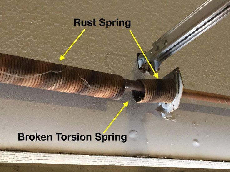 25 Best Ideas About Broken Garage Door Spring On