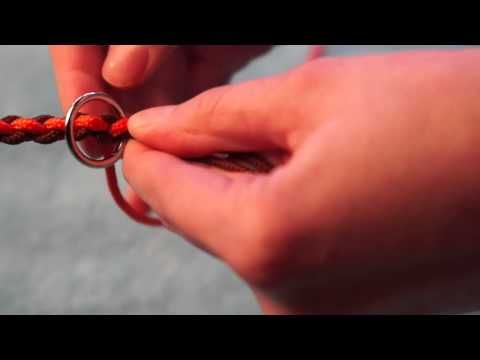 DIY Paracord Hundeleine rund - YouTube