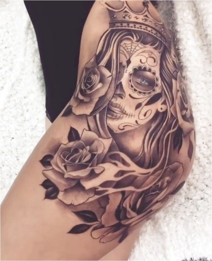 Placement for my day of the dead woman #TattooSleeves Click to see more. – #clic…