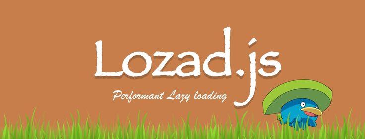 lozad.js lazy loading javascript library