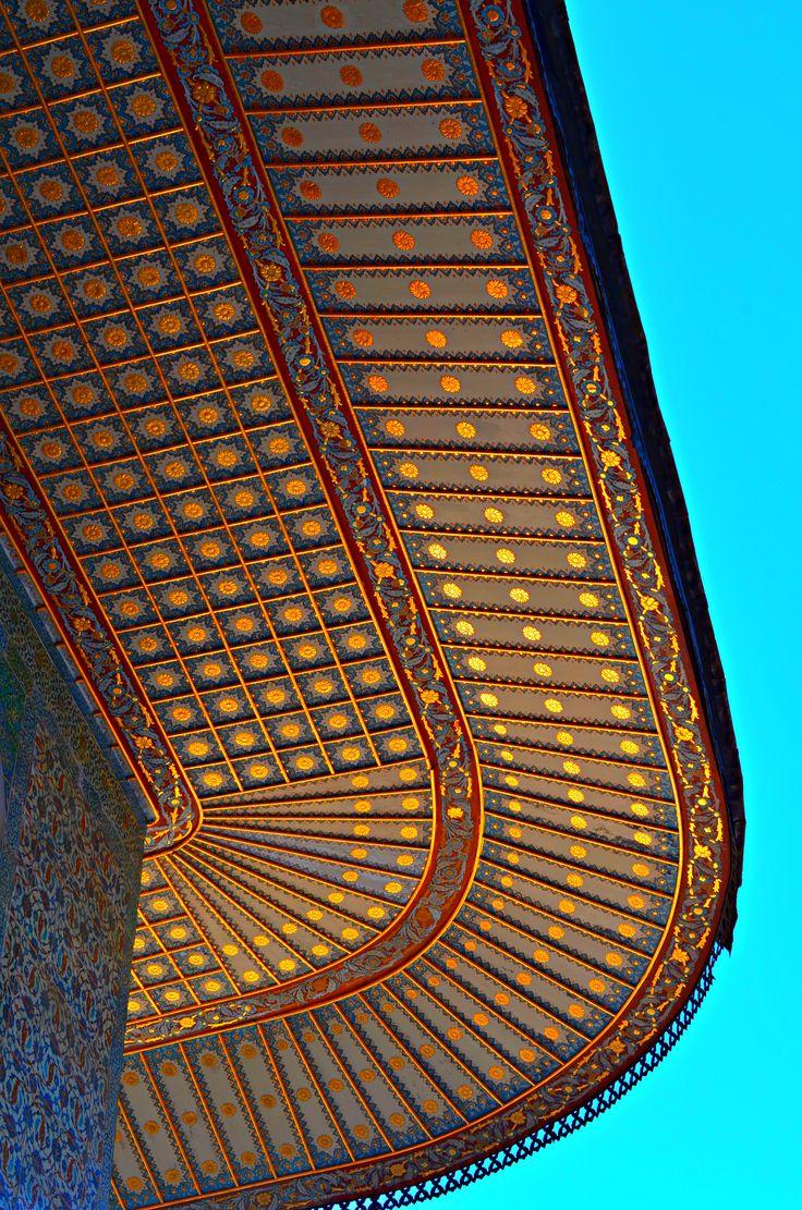 Istanbul, Turkey - Topkapi Palace Roof Detail