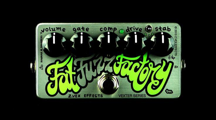 ZVex Vexter Series Fat Fuzz Factory Electric Guitar & Bass Effects Pedal