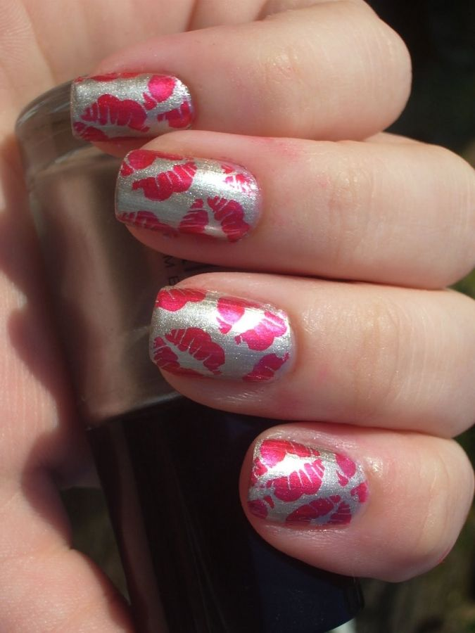 22 Magical Nail Designs for Pretty Girls - Best 25+ Kiss Nails Ideas On Pinterest Other Nail Design, French