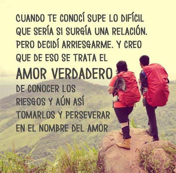 En El Amor Siempre Hay Obstáculos Pero Si Es Verdadero
