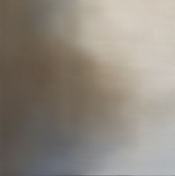 Conversations (vi) - Annie Hsiao-Wen Wang Oil on Belgium linen 88 x 88cm