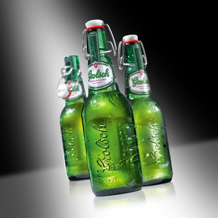 Grolsch Redesign - I like the bottles