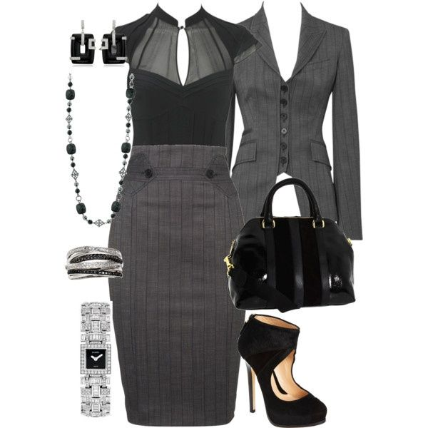 I love love love this outfit, but it needs a splash of colour!