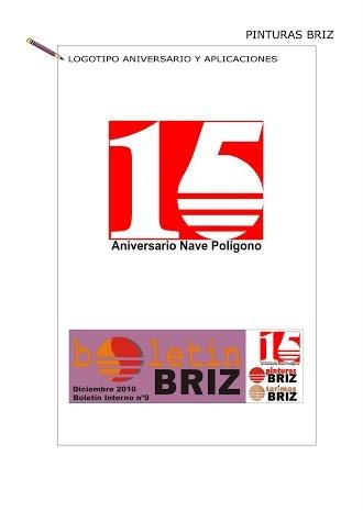 #Logo aniversario BRIZ