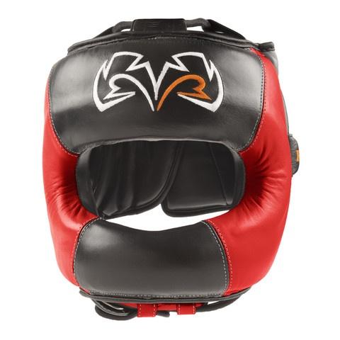 Rival RHGFS1 Face Saver headgear. Black & Red version