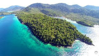 Rubiah Island From Above (Credits to : @a9un9hari)
