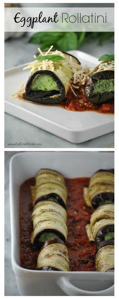 Vegan Eggplant Rollatini Recipe!