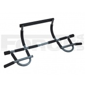 force usa doorway chin up with multigrip gym bar quick set up and remove