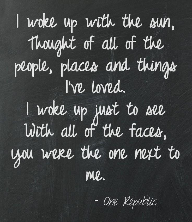 OneRepublic - If I Lose Myself, music lyrics