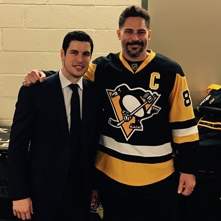Sidney Crosby and Joe Manganiello
