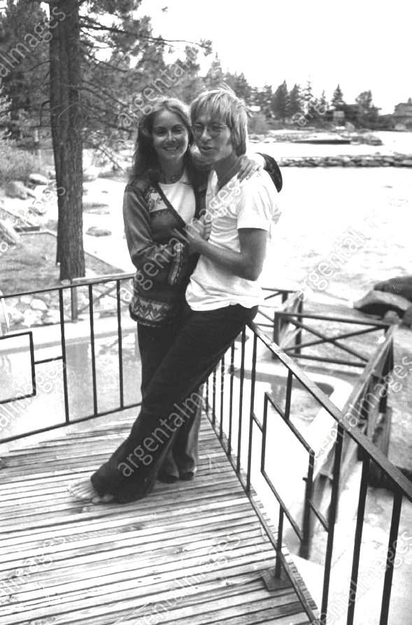 at Lake Tahoe, 1976 Annie and John ......saw him perform twice...front row seats