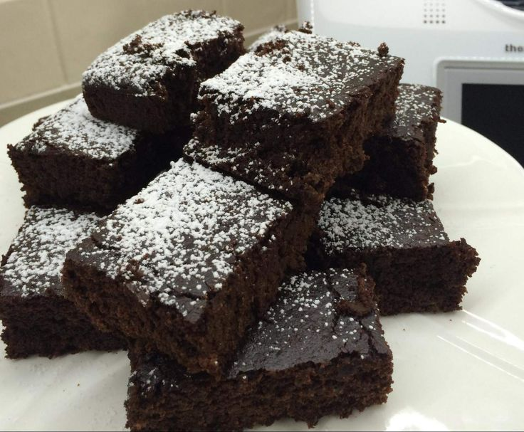 Recipe Chocolate zucchini brownies GLUTEN/EGG/SUGAR and DAIRY FREE by AJSollorz - Recipe of category Baking - sweet