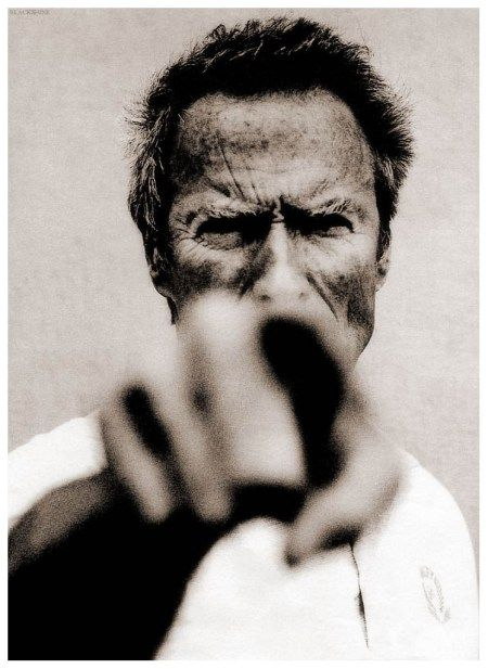 Clint Eastwood – photo Anton Corbijn                                                                                                                                                      More