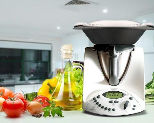 Imagen del robot de cocina Vorwerk Thermomix TM31.