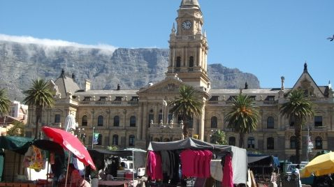 City Hall, Cape Town, South Africa.