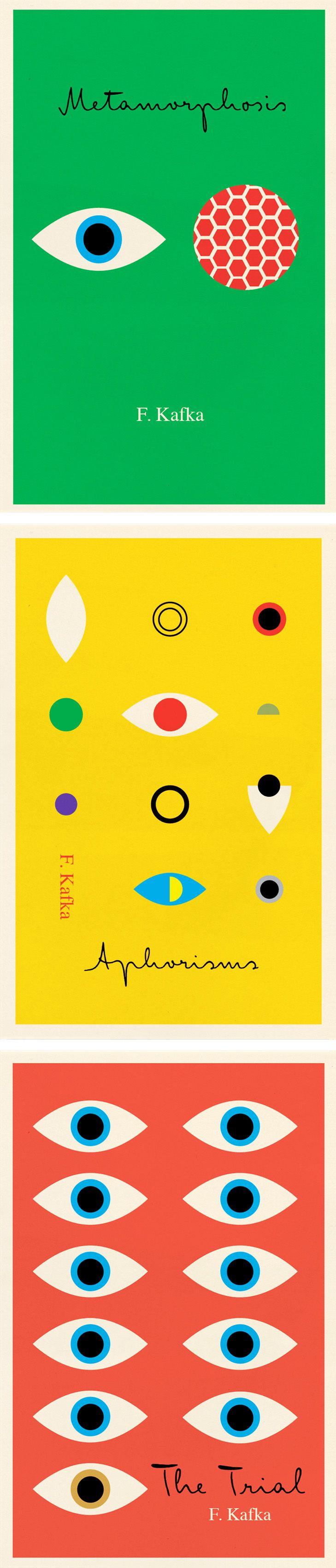 PETER MENDELSUND. Jacket-book covers, Franz Kafka. 2011.